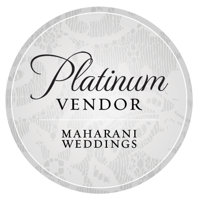 MaharaniWeddings.com Platinum Guide Vendor