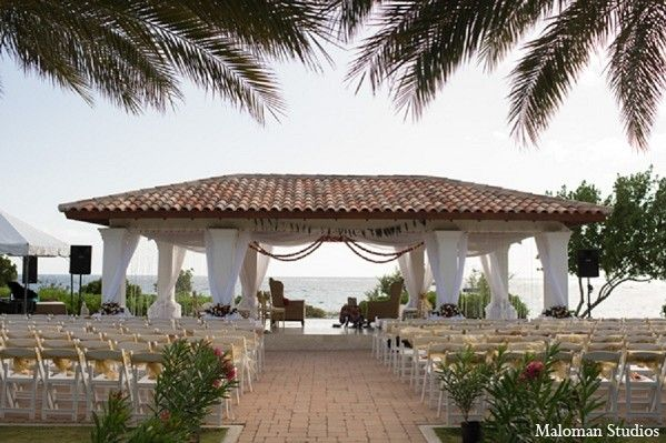 Ceremony In Curacao Caribbean Indian Destination Wedding By Maloman Studios