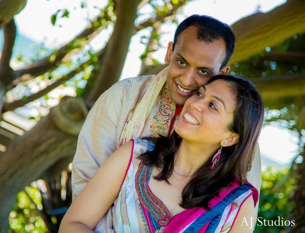 Engagement Portraits in Sunday Sweetheart Winners ~ Rupali & Rohit by AJ Studios
