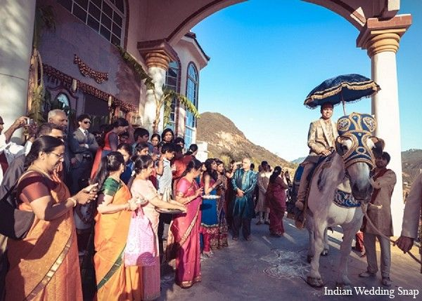 Baraat in Agoura Hills, CA Indian Wedding by Indian Wedding Snap