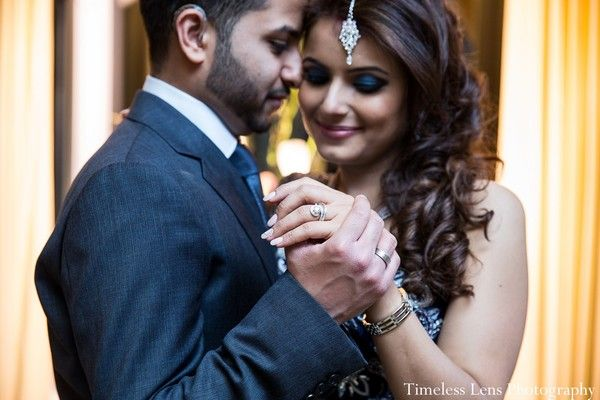 Reception in Boston, MA Indian Wedding by Timeless Lens Photography