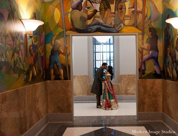 Sangeet in Chicago, IL Indian Wedding by Modern Image Studios