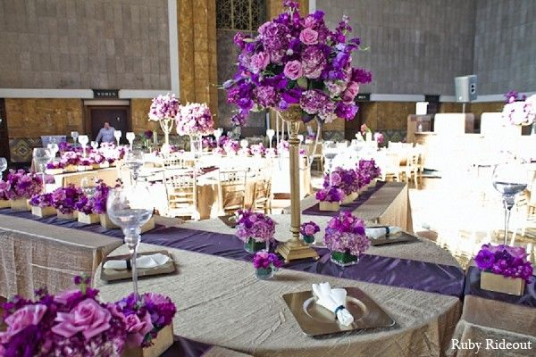 Floral & Decor in Los Angeles, CA Indian Wedding by Ruby Rideout