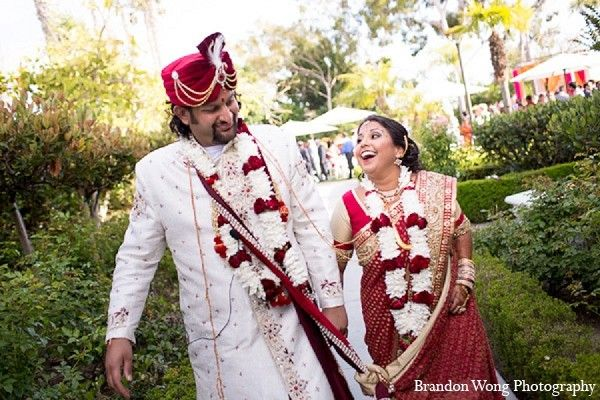 Ceremony in Newport Beach, CA Indian Wedding by Brandon Wong Photography