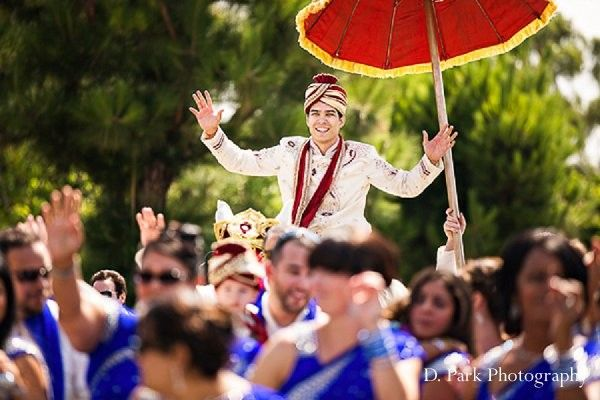Ceremony in Orange, CA Indian Fusion Wedding by D. Park Photography