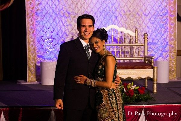 Reception in Orange, CA Indian Fusion Wedding by D. Park Photography
