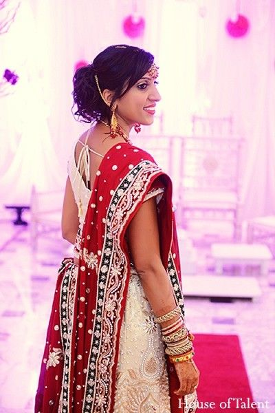 Portraits in Garfield, NJ Indian Fusion Wedding by House of Talent Studio