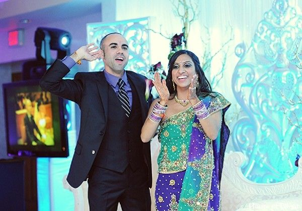 Reception in Garfield, NJ Indian Fusion Wedding by House of Talent Studio