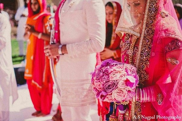 Ceremony in Upstate, NY Indian Wedding by A.S Nagpal Photography