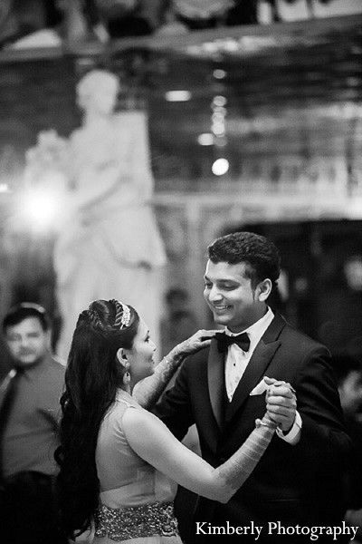 Sangeet in Clearwater, Florida Indian Wedding by Kimberly Photography