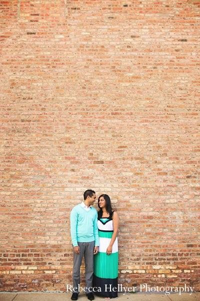 Engagement portraits in Sunday Sweetheart Winners ~ Karina & Allister by Rebecca Hellyer Photography
