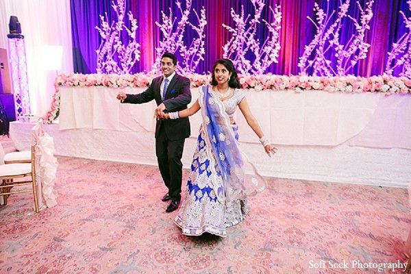 Reception in Chicago, IL Indian Wedding by Sofi Seck Photography