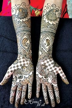 Henna For All submitted beautiful mehndi designs for our 3rd Annual Mehndi Maharani Contest.