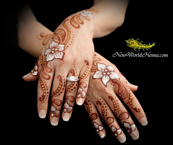 Mehndi maharani finalist: New World Henna in Mehndi Maharani 2013 Finalist: New World Henna
