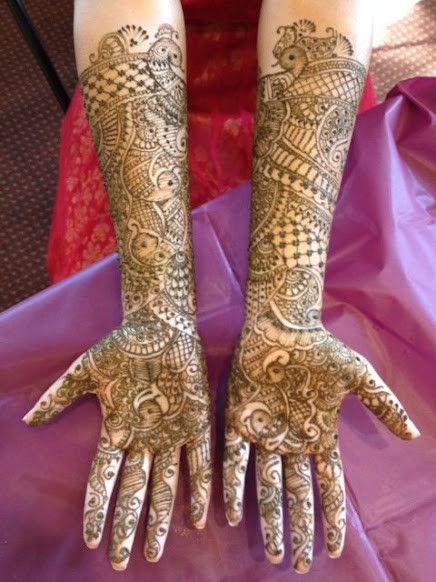 Bridal Mehndi Gallery : Mehndi maharani finalist bridal henna artist