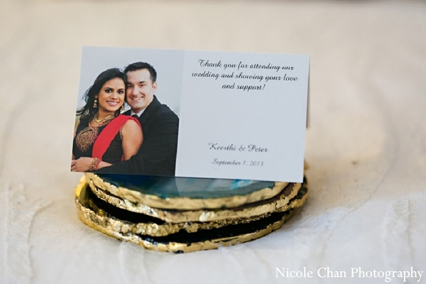 Invitations & Wedding Stationery in Kingston, MA Indian Fusion Wedding by Nicole Chan Photography