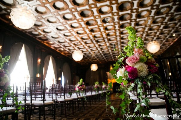 Floral & Decor in San Francisco, CA Indian Fusion Wedding by Naveed Ahmad Photography
