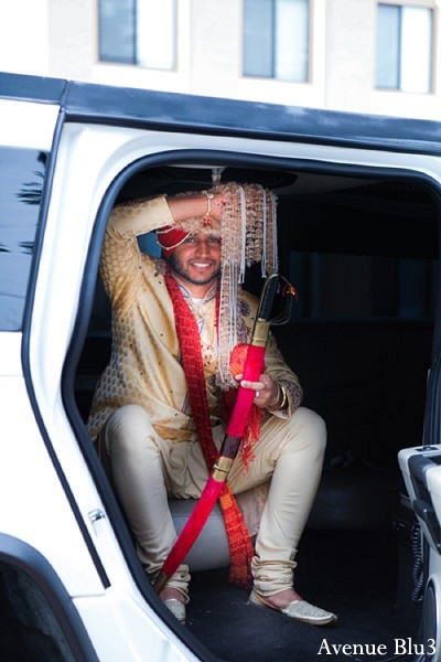 Baraat in Sacramento, CA Indian Wedding by Avenue Blu3