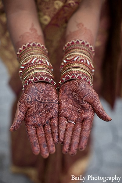 Mehndi Artist in Boston, MA Indian Wedding by Bailly Photography