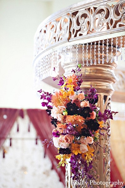 Floral & Decor in Boston, MA Indian Wedding by Bailly Photography
