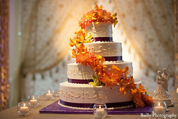 Cakes & Treats in Boston, MA Indian Wedding by Bailly Photography