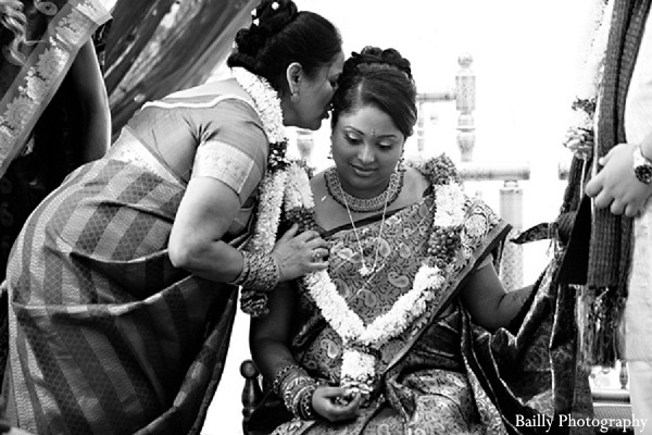 Ceremony in Boston, MA Indian Wedding by Bailly Photography