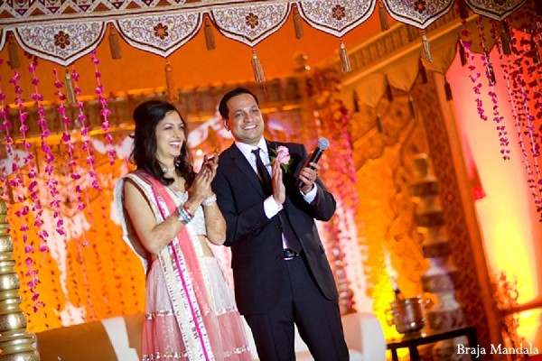 Reception in Detroit, MI Indian Wedding by Braja Mandala Wedding Photography