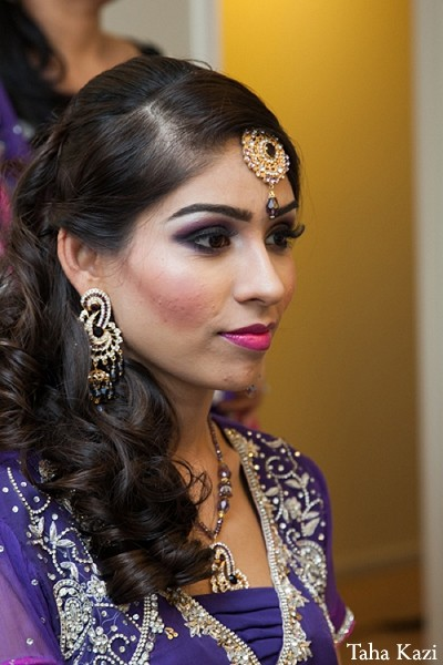 Hair & Makeup in Baltimore, MD Indian Wedding by Taha Kazi
