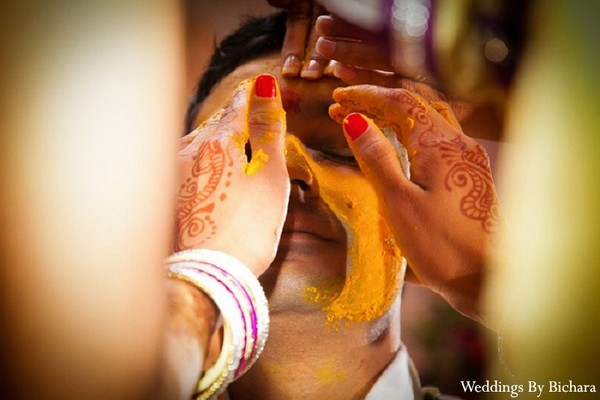 Gaye Holud in Dallas, TX Indian Wedding by William Bichara Photography