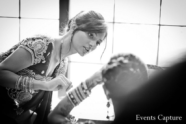 Getting ready in Parsippany, NJ Indian Wedding by Events Capture