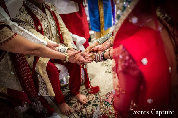 Ceremony in Parsippany, NJ Indian Wedding by Events Capture