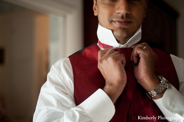 Groom Fashion in Tampa, FL Indian Wedding by Kimberly Photography