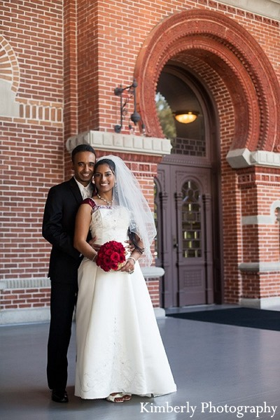 Portraits in Tampa, FL Indian Wedding by Kimberly Photography