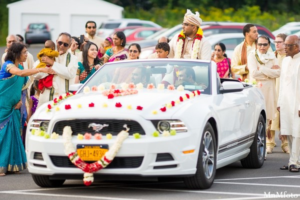 Baraat in Albany, NY Indian Wedding by MnMfoto