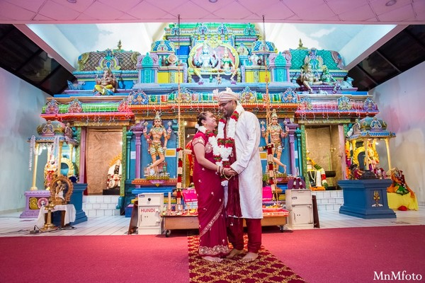 Ceremony in Albany, NY Indian Wedding by MnMfoto