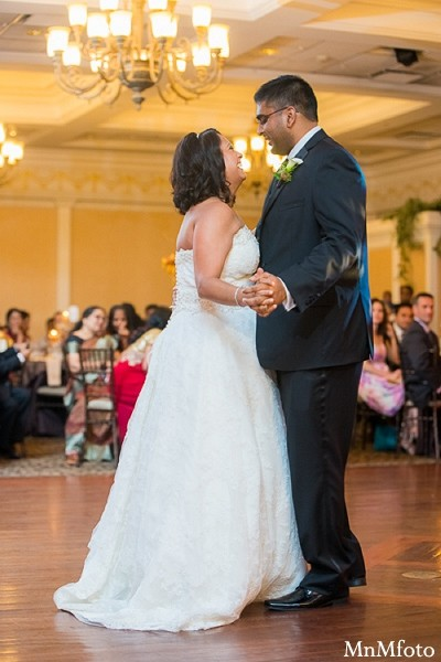 Reception in Albany, NY Indian Wedding by MnMfoto
