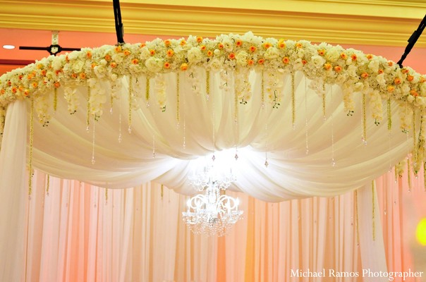 Mandap in Houston, TX Indian Fusion Wedding by Michael Ramos Photographer