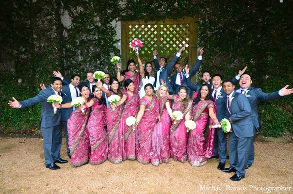 Portraits in Houston, TX Indian Fusion Wedding by Michael Ramos Photographer