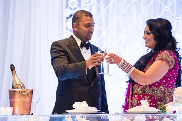 Reception in Fremont, CA Indian Wedding by Wedding Documentary Photo + Cinema