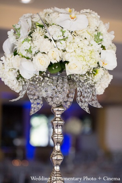 indian wedding decorations,indian wedding decor,indian wedding decoration,indian wedding decorators,indian wedding decorator,indian wedding ideas,ideas for indian wedding reception,indian wedding decoration ideas,white,floral arrangement,centerpieces,floral centerpieces