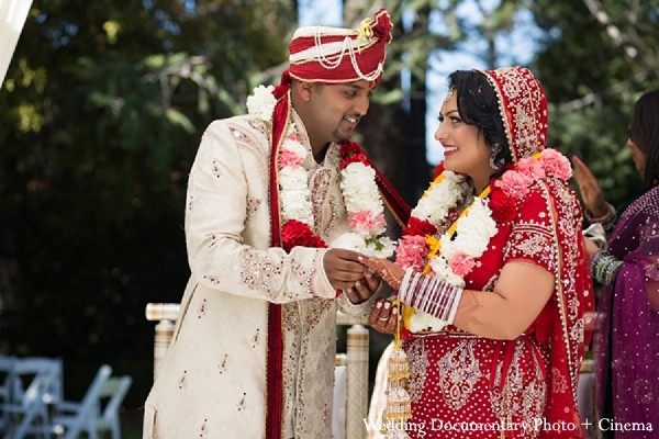 Ceremony in Fremont, CA Indian Wedding by Wedding Documentary Photo + Cinema