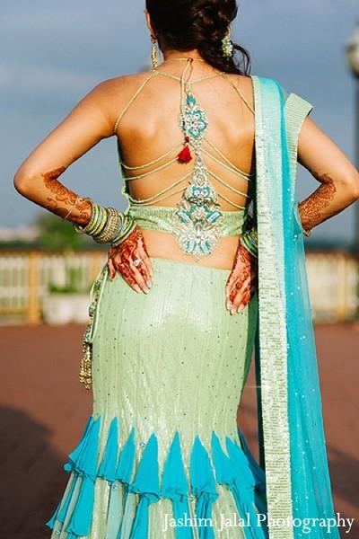 Backless Indian Wedding Dress