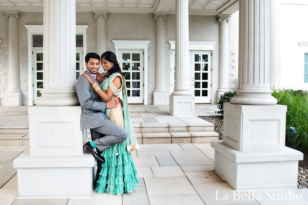 Reception in Somerset, NJ Indian Wedding by La Bella Studio