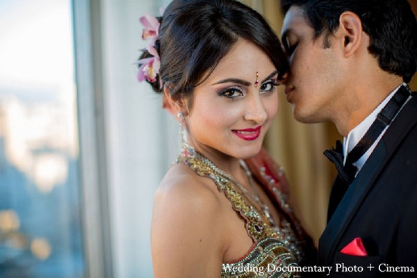 Portraits in Fremont, CA Indian Wedding by Wedding Documentary Photo + Cinema