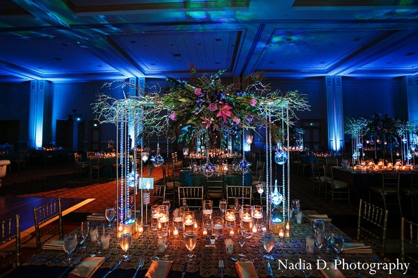 Reception in Kissimmee, FL Indian Wedding by Nadia D. Photography