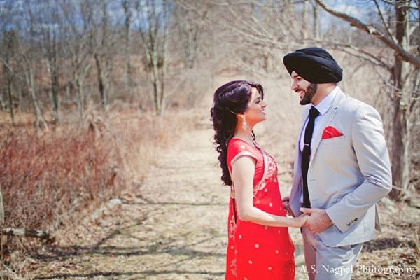 Engagement portraits in Sweetheart Sunday Winners ~ Manpreet & Gurkanwal by A.S. Nagpal Photography