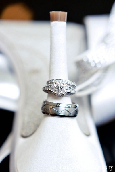 Wedding Rings in Newport Beach, CA Indian Wedding by Harvard Photography