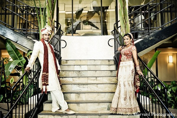 Portraits in Newport Beach, CA Indian Wedding by Harvard Photography
