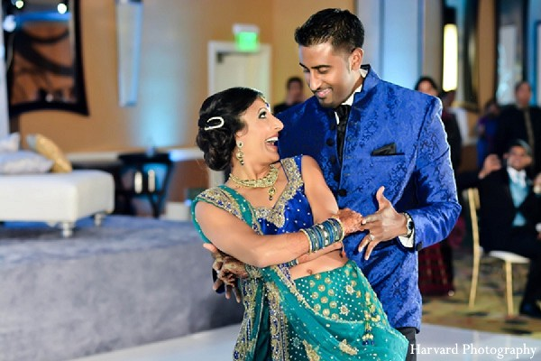 Reception in Newport Beach, CA Indian Wedding by Harvard Photography