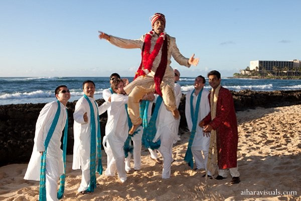 Portraits in Oahu, HI Indian Wedding by Aihara Visuals